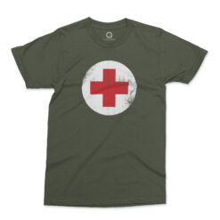Quadrant WWII Medic T-Shirt Ranger Green