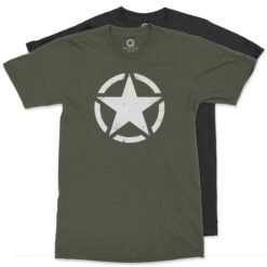 Quadrant WWII US Military Star and Circle T-Shirt